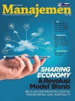 Majalah Manajemen Edisi Maret 2018, SHARING ECONOMY & REVOLUSI MODEL BISNIS