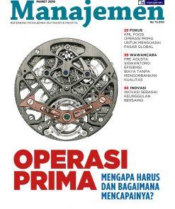 Majalah Manajemen Edisi Maret 2018, OPERASI PRIMA